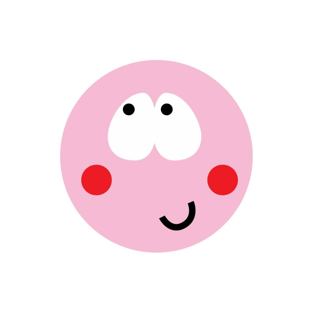Smiley Modern 7 Sticker
