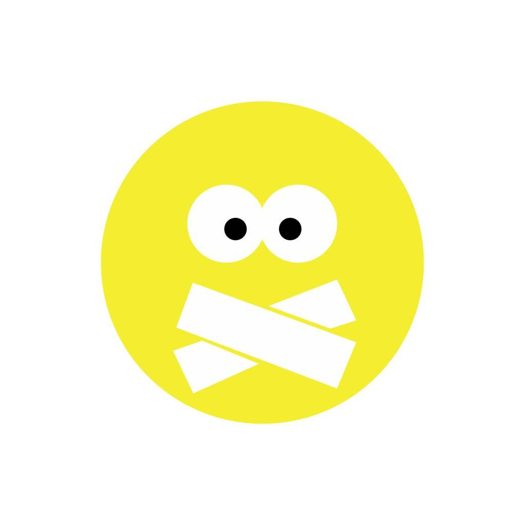 Smiley Modern 4 Sticker