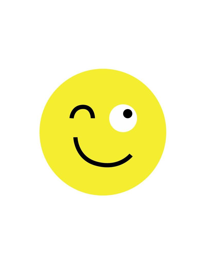 Pegatina smiley moderna 2
