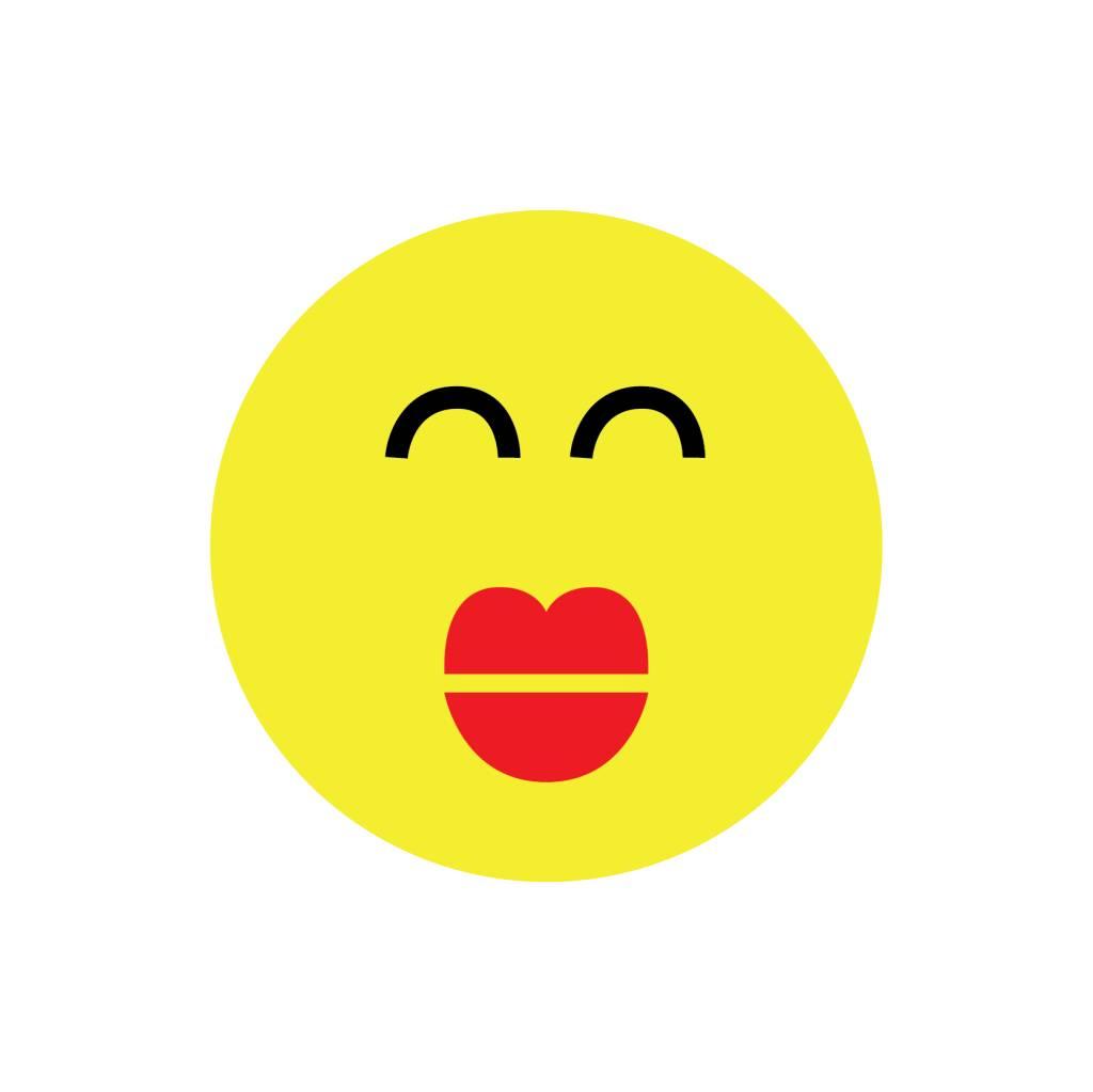 Smiley Modern 1 Sticker