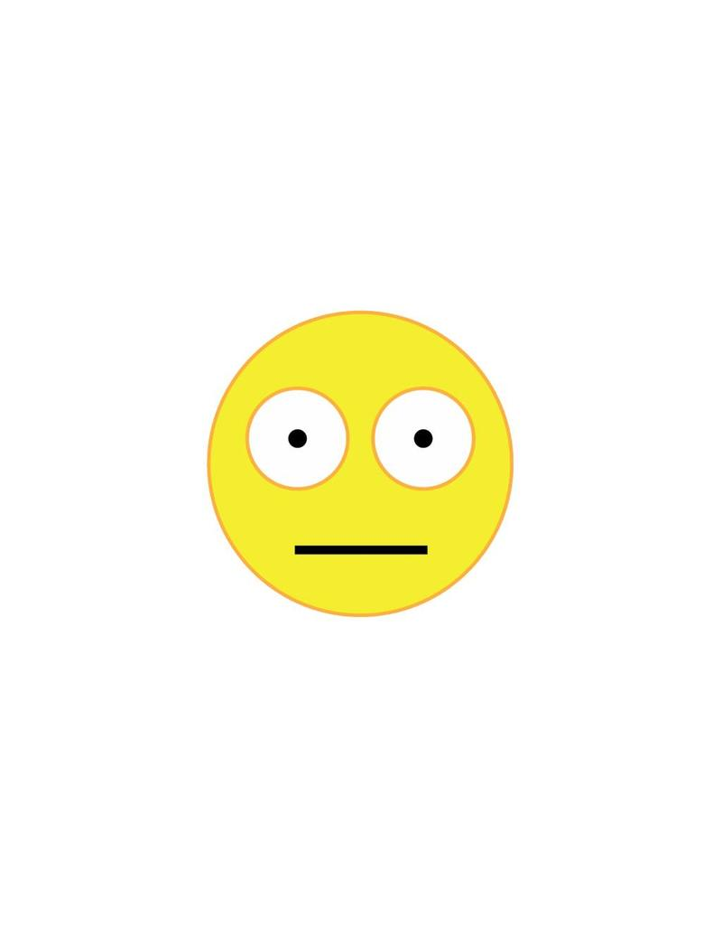 Pegatina smiley 16