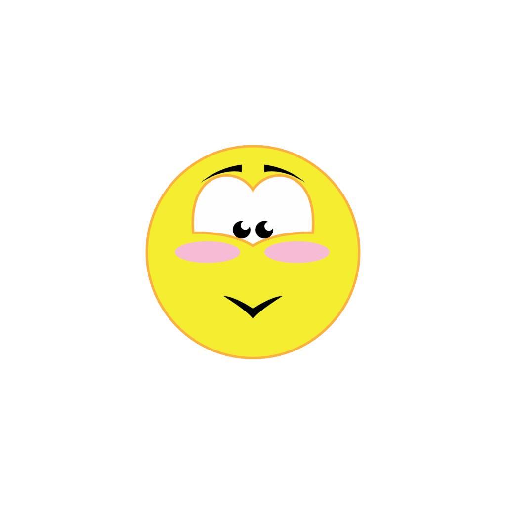 Autocollant smiley 14