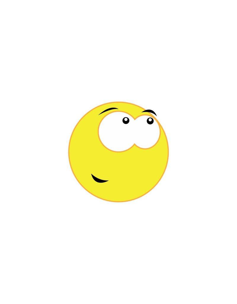 Autocollant smiley 13