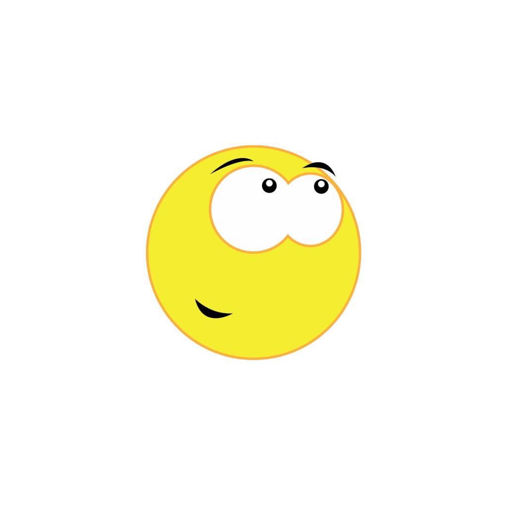 Pegatina smiley 13