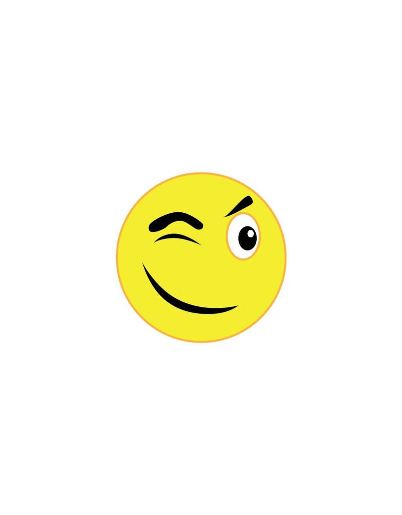 Pegatina smiley 11