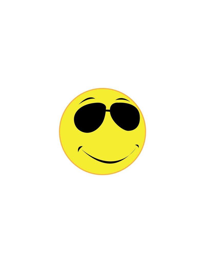 Autocollant smiley 9