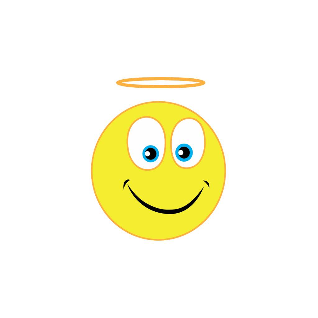 Pegatina smiley 6