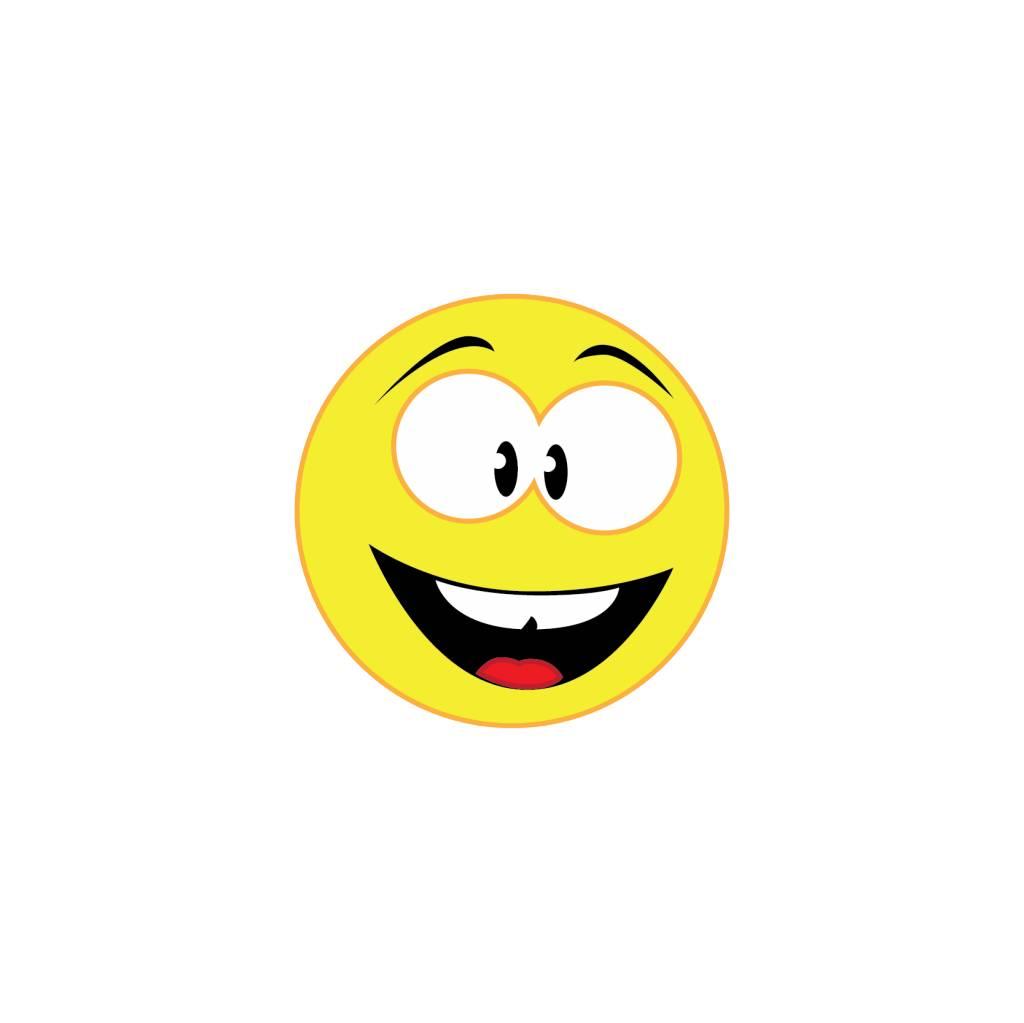 Autocollant smiley 1