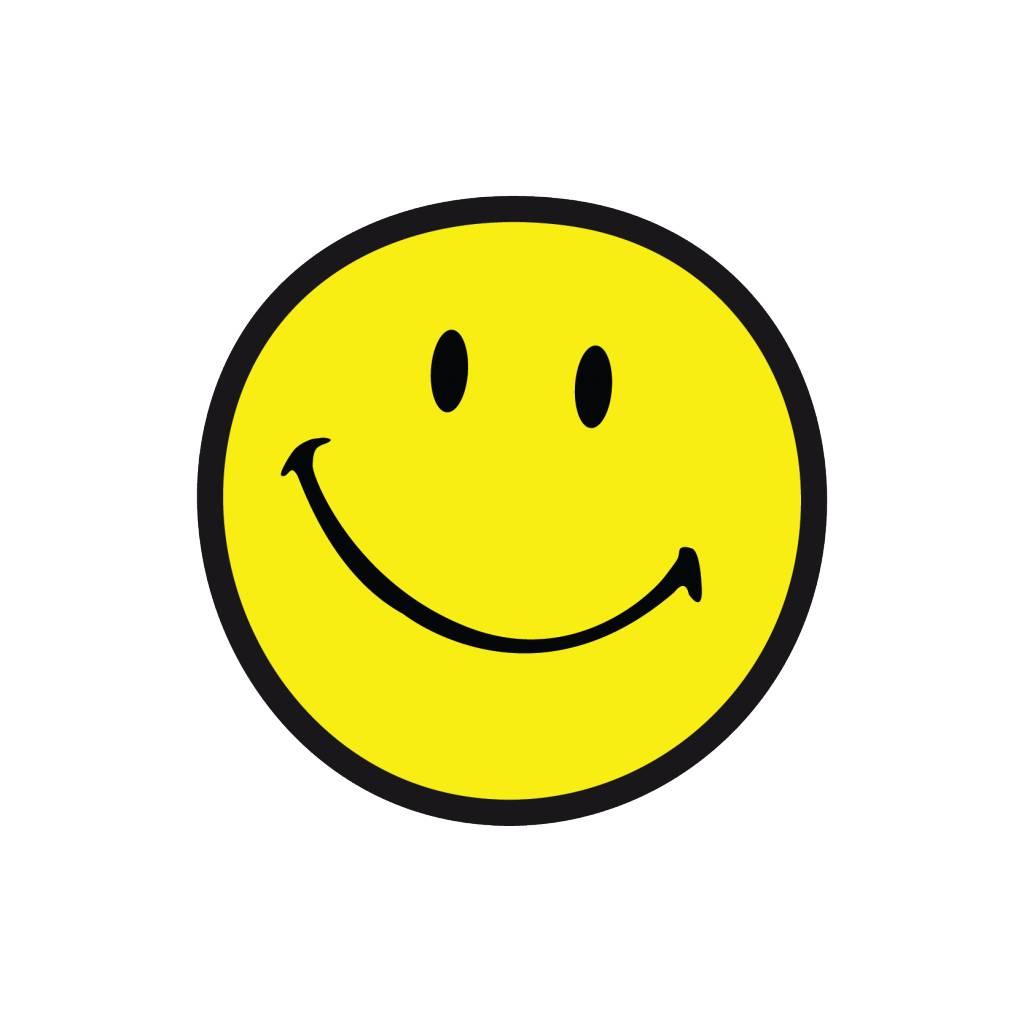 Smiley 12 autocollant