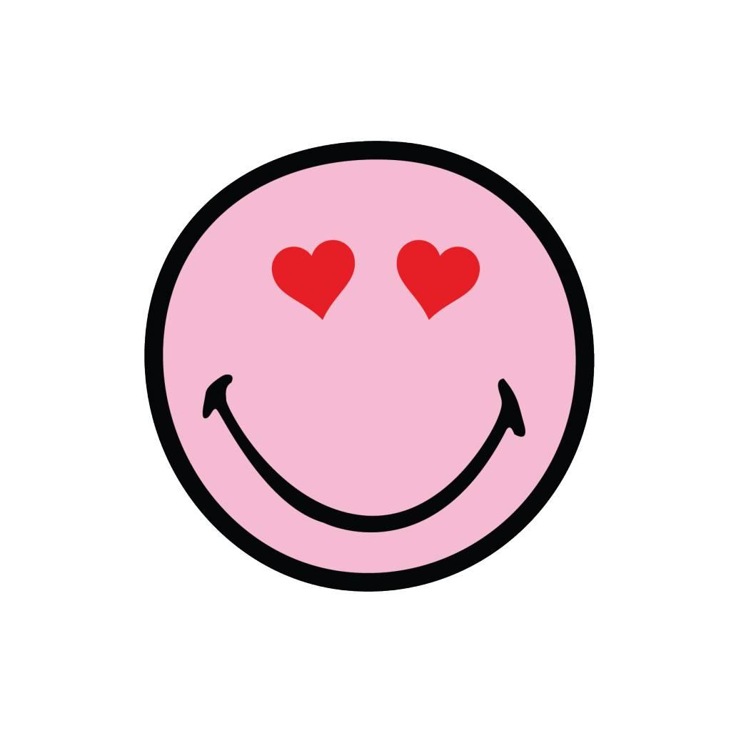 Smiley 10 autocollant