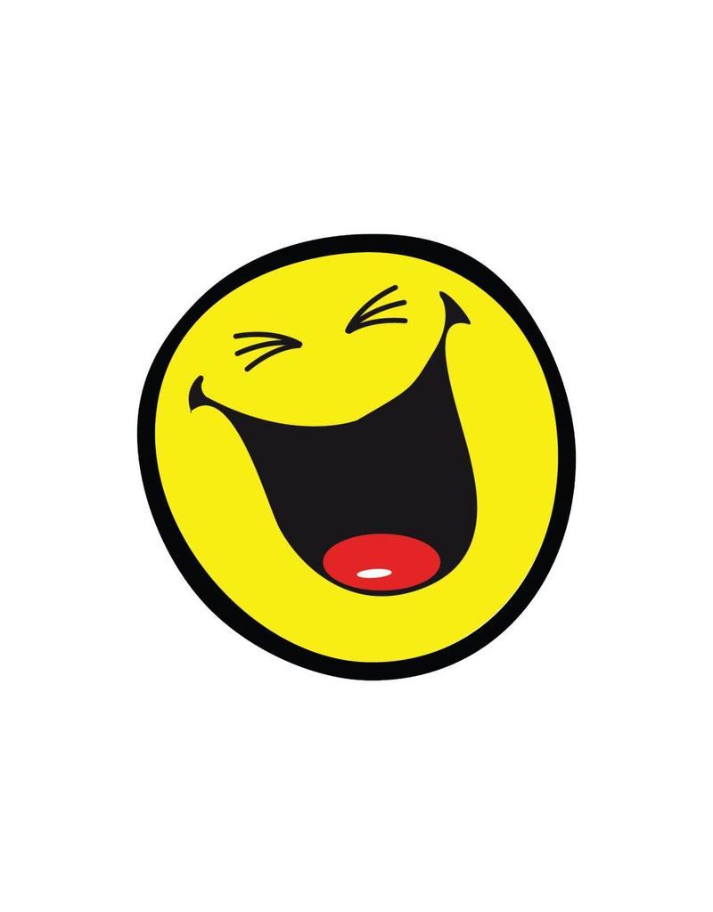 Smiley 9 autocollant