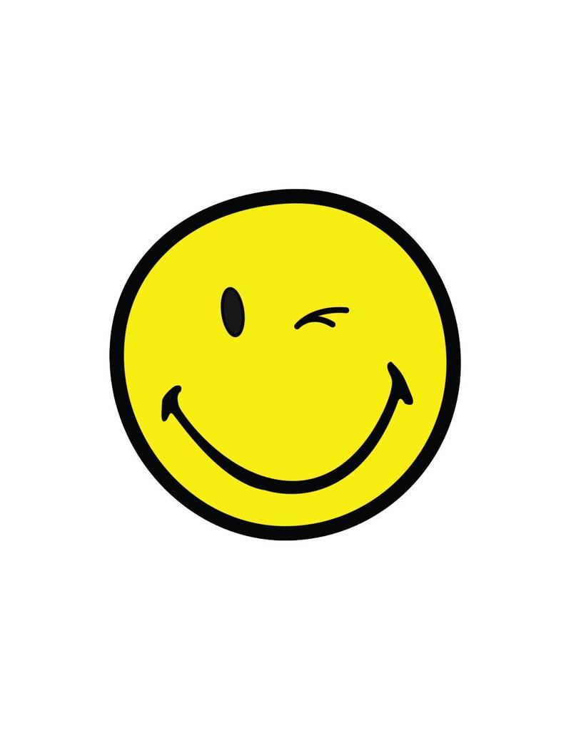 Smiley 8 autocollant