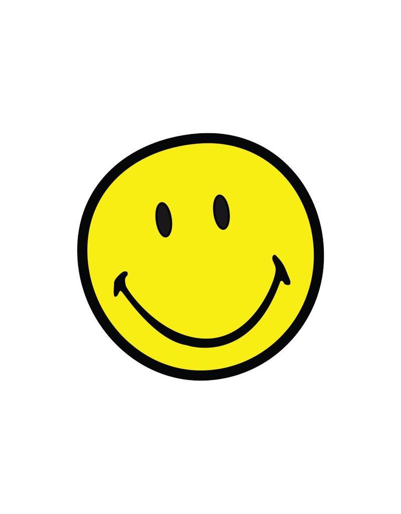 Smiley 7 autocollant