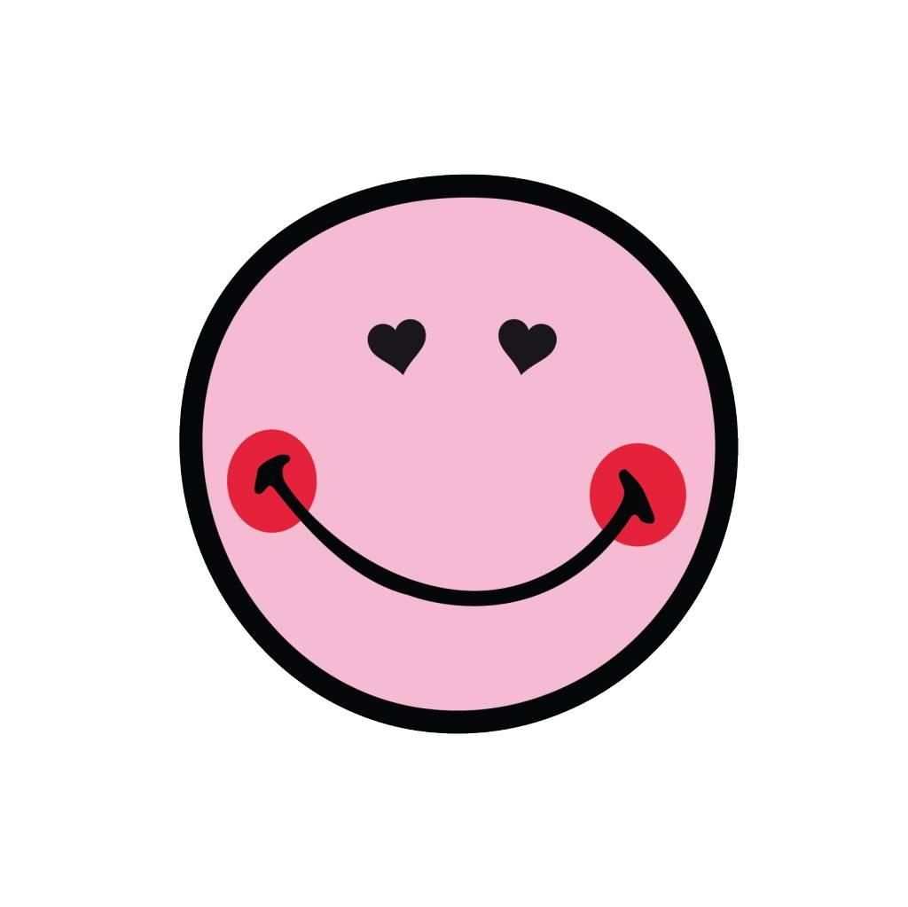 Smiley 4 autocollant