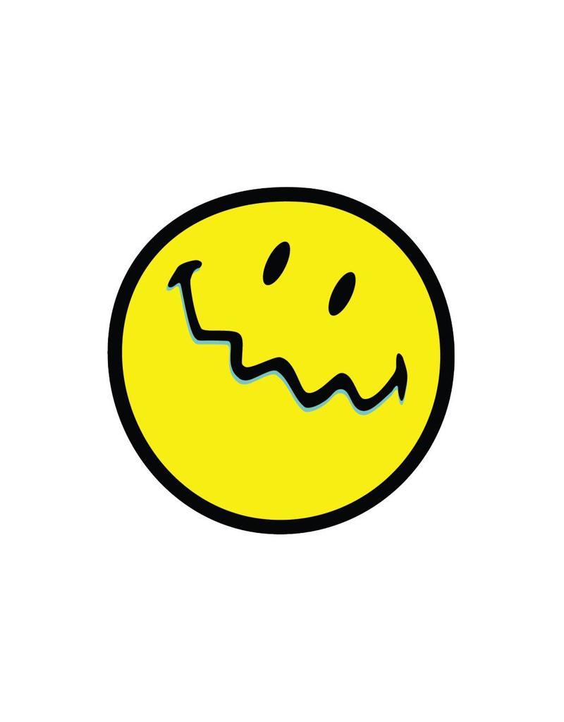 Smiley 2 autocollant