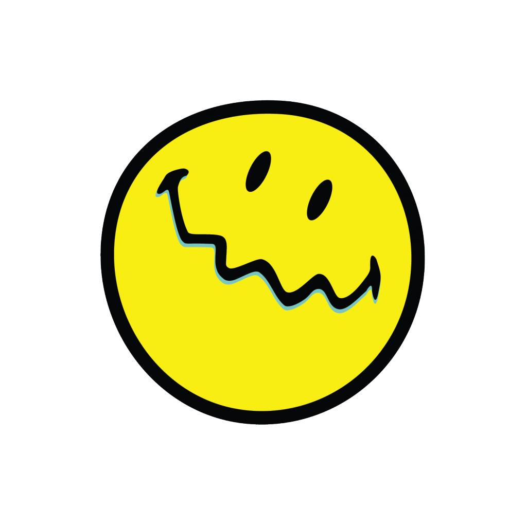 Smiley 2 Sticker