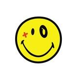 Smiley 1 autocollant