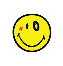 Smiley 1 Sticker