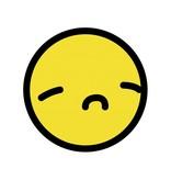 Smiley geel 6 sticker