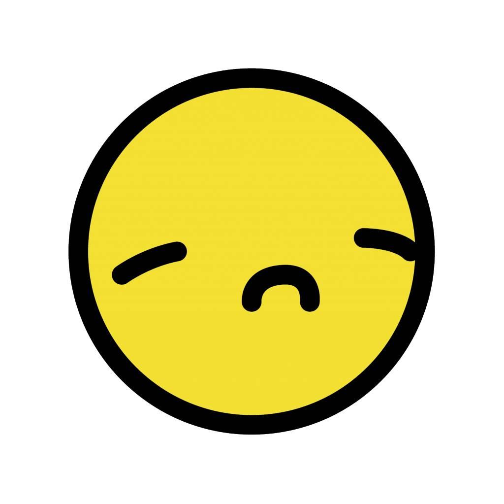 Pegatina smiley amarilla 6