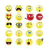 Autocollants smiley 2