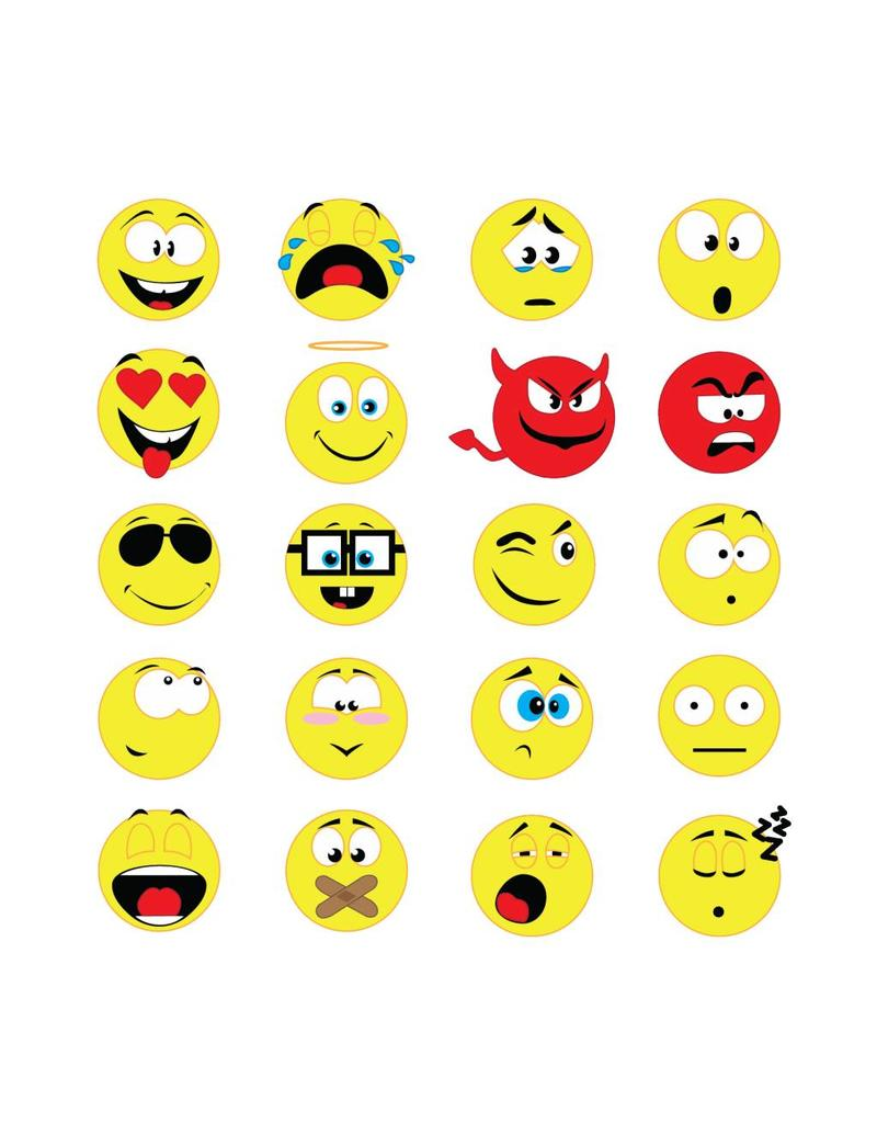 Smiley Stickervel 2