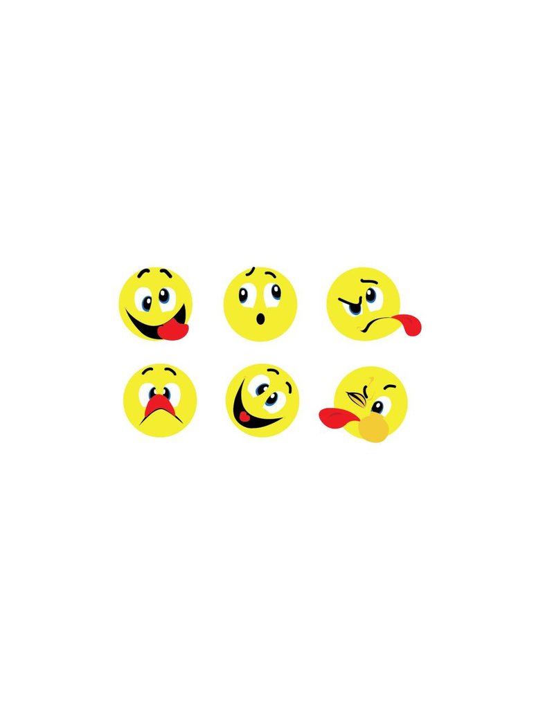 Crazy faces stickers