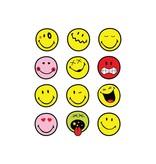 Smiley Stickervel 1