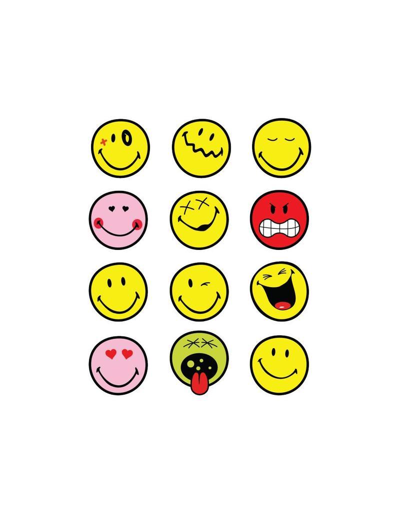 Autocollants smiley 1