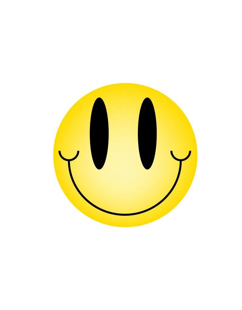 Autocollant smiley standard