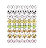 Set Tiere Smiley Sticker 1
