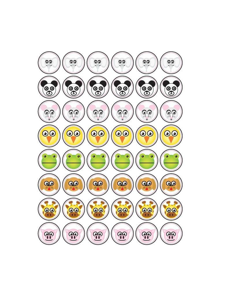 Animal Smiley Stickers1