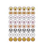 Set Tiere Smiley Sticker