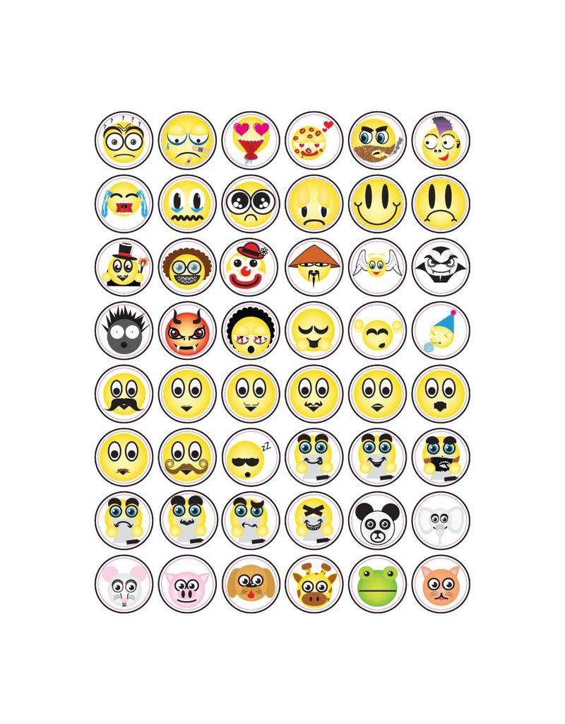 Set Smiley Sticker 5
