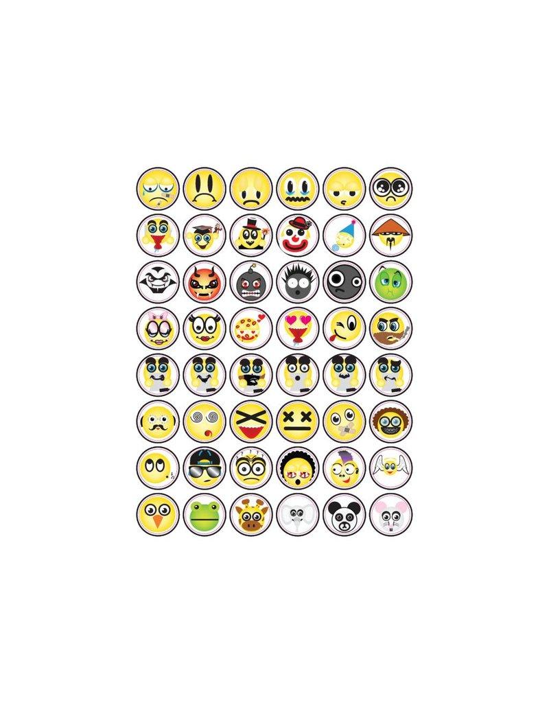 Set Smiley Sticker 1