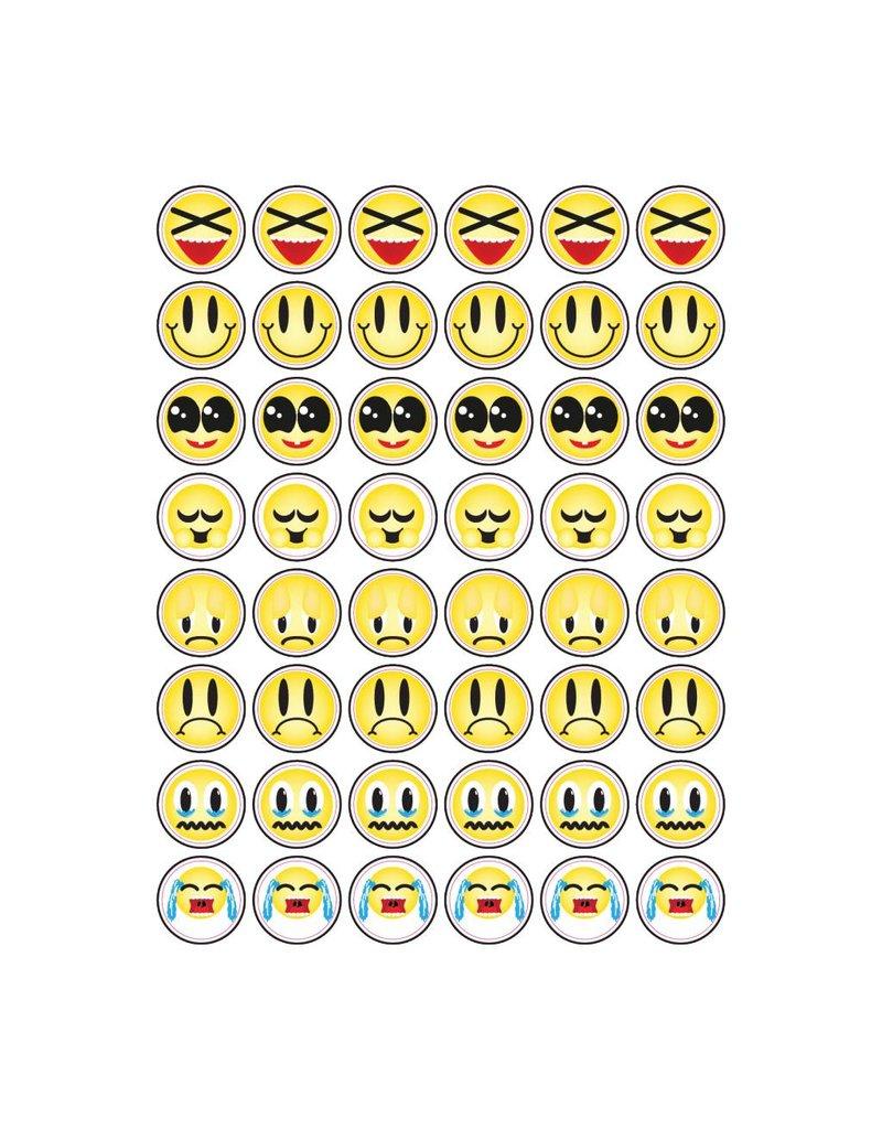 Smiley divers autocollants