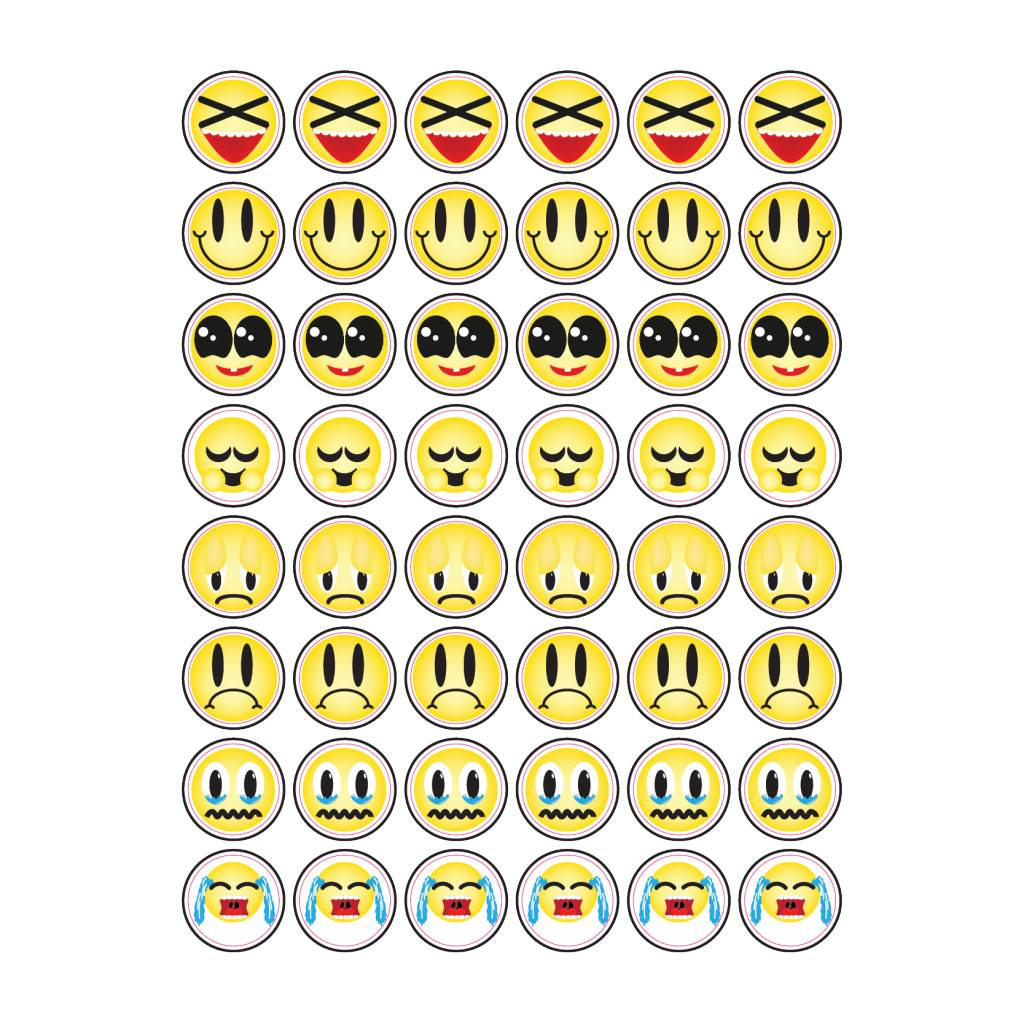 Diverse Smiley Stickers