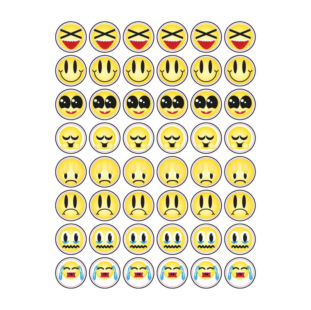 Set Smiley Sticker