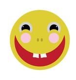 Lachender Smiley Sticker