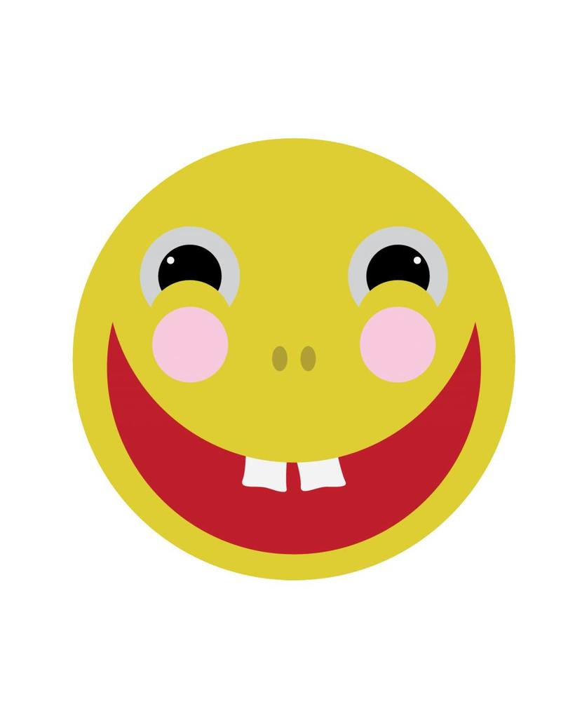 Laughing smiley Sticker