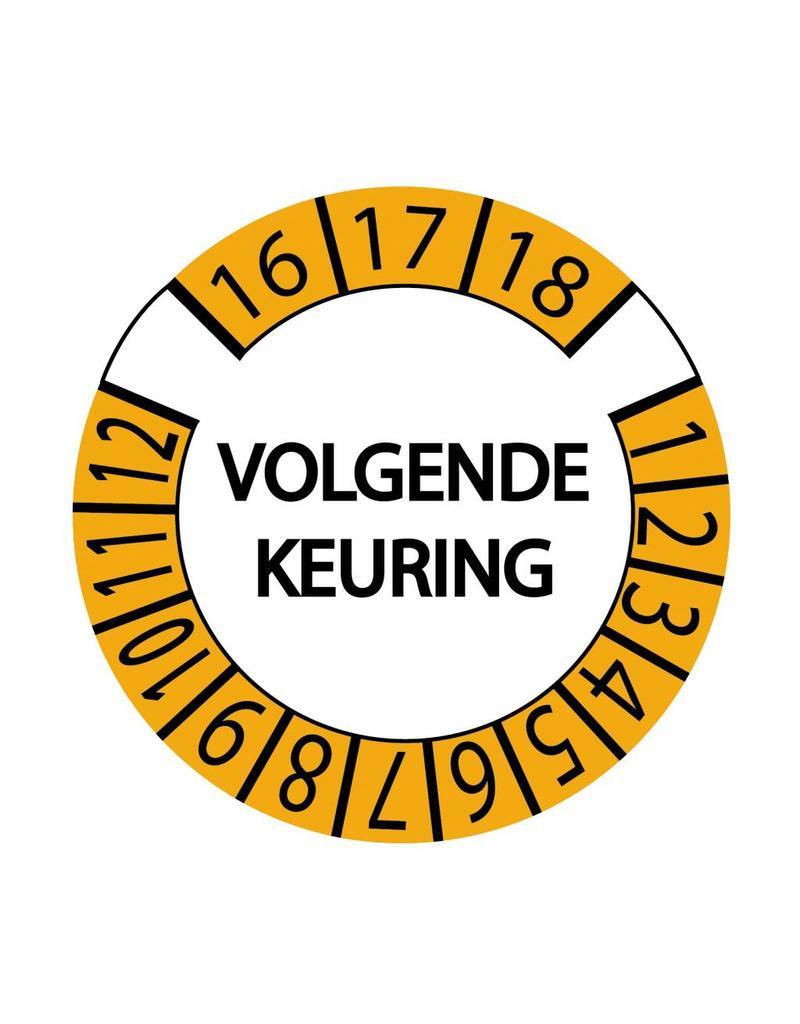 Keuring Sticker 11