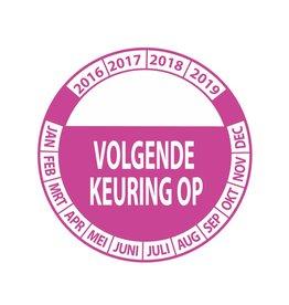Keuring Sticker 9