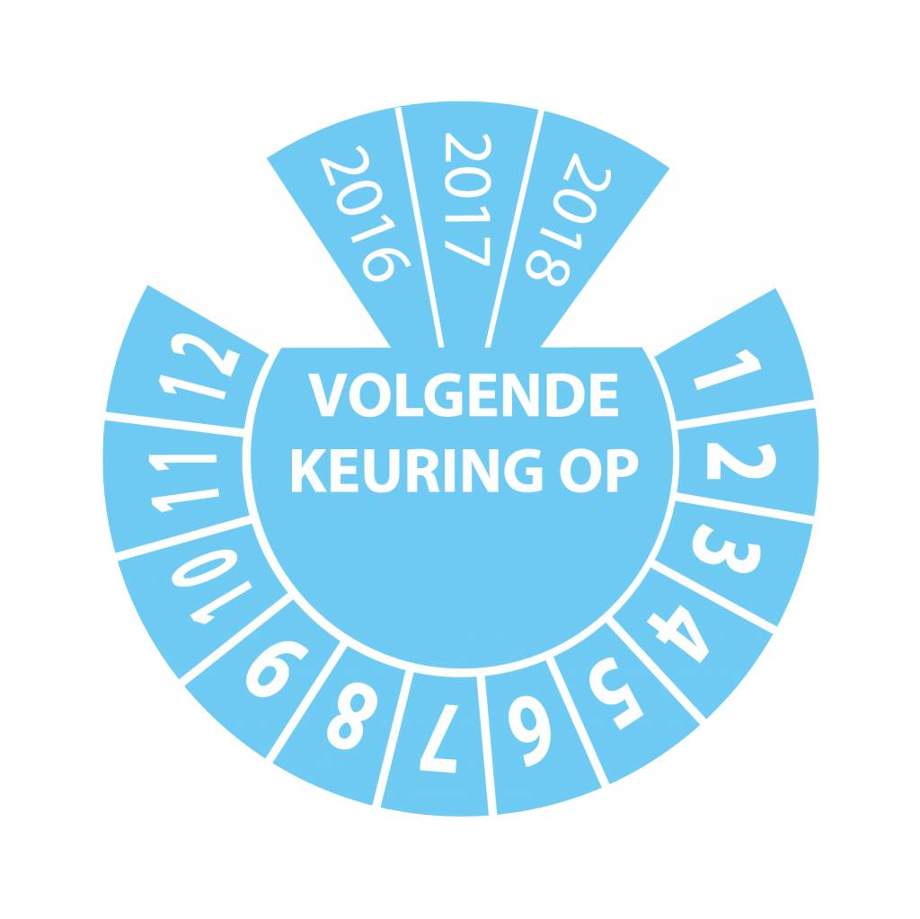 Keuring Sticker 8