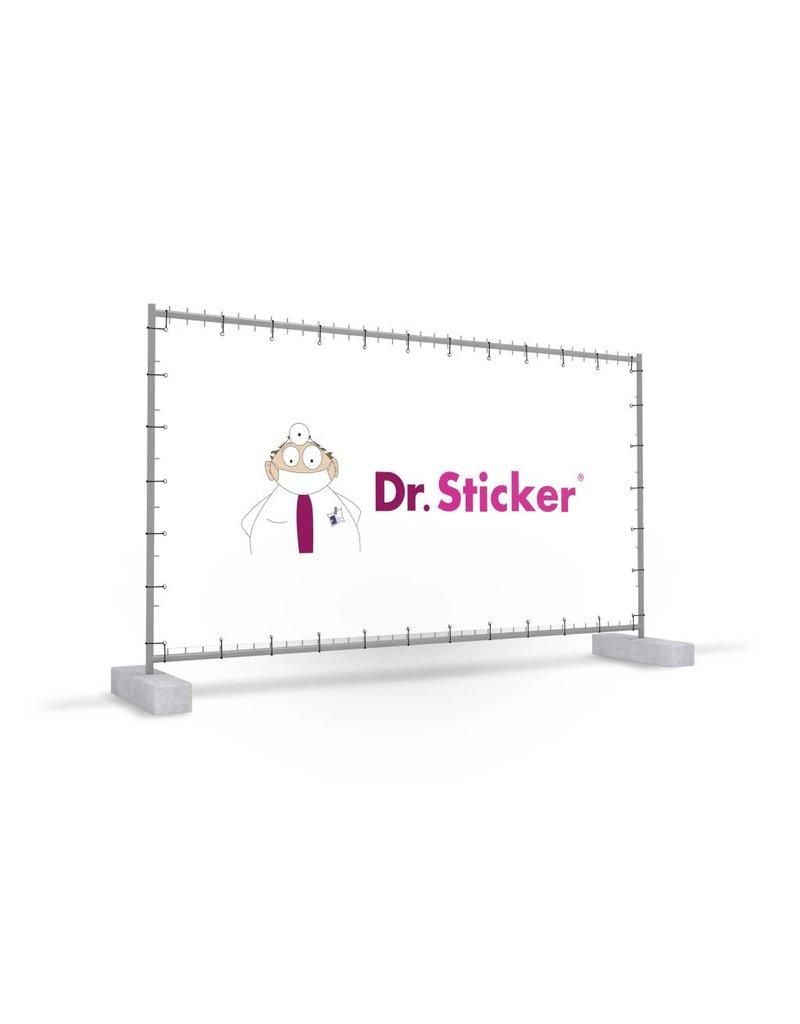 Mobile fence banner
