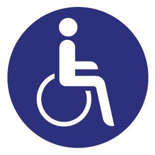 Wheelchair 1 Sticker