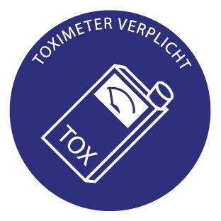 "Pegatina ""Toximeter"""