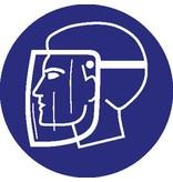 Autocollant masque de protection obligatoire