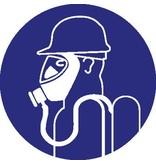Autocollant protection respiratoire lourd obligatoire