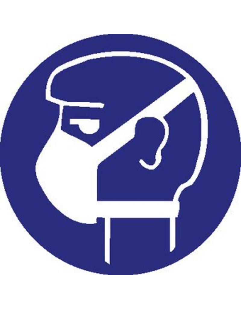Autocollant protection respiratoire léger obligatoire