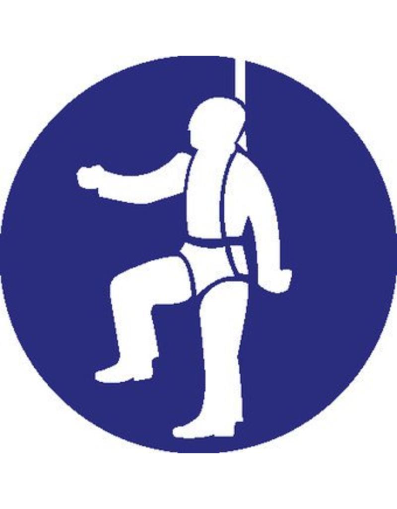 Individual safety armour mandatory sticker